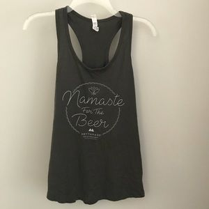 """Tops - """"Namaste For The Beer"""" Tank Top"""